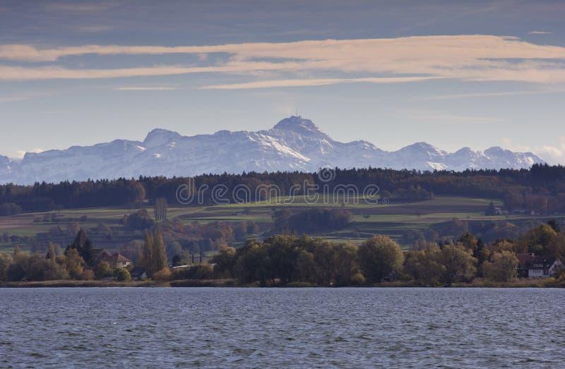 Озеро Констанции стоковые изображения rf