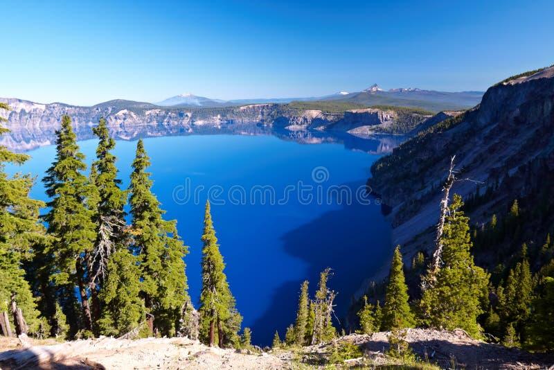 озеро 2008 кратера Орегон США стоковые изображения rf