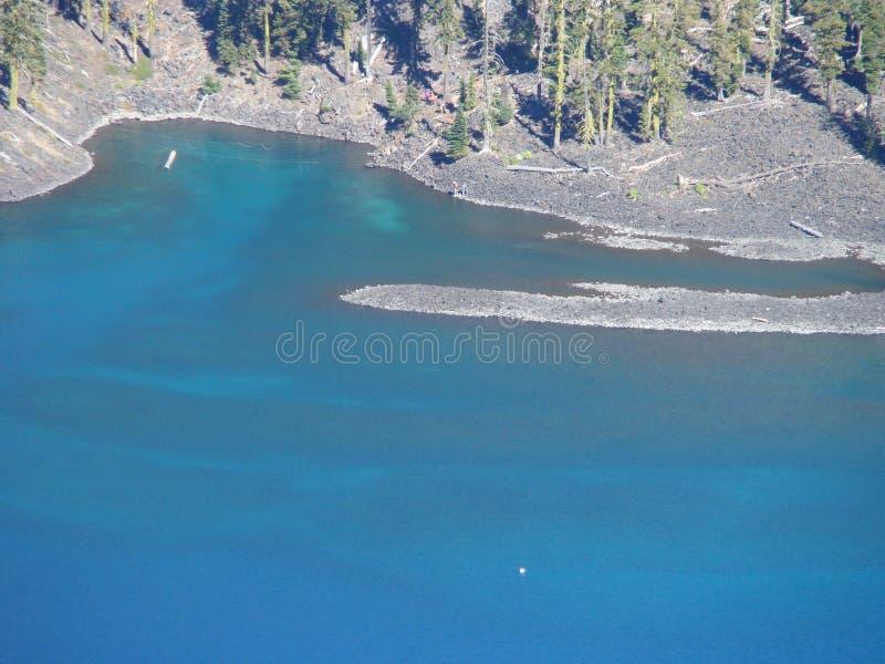 Озеро кратер, взгляд #102 стоковые изображения rf