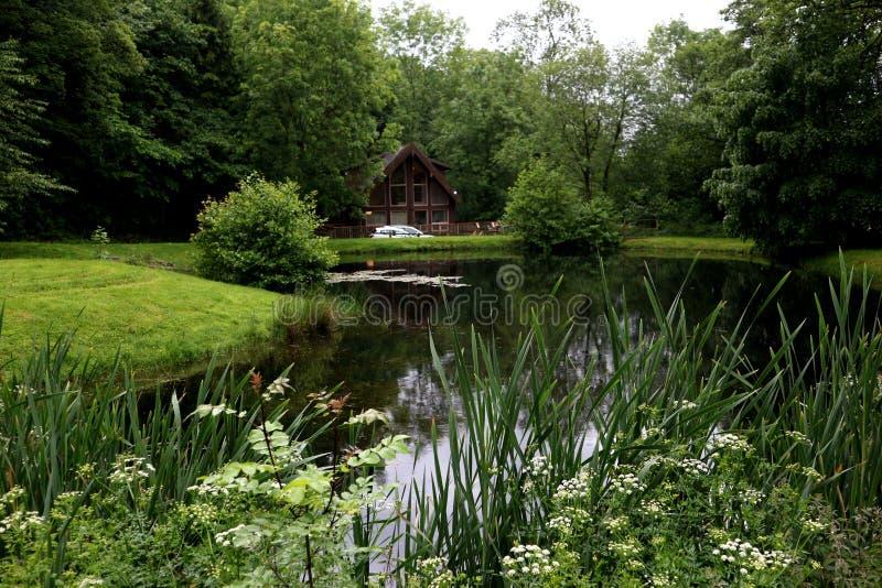 Озеро ложей стоковые изображения rf