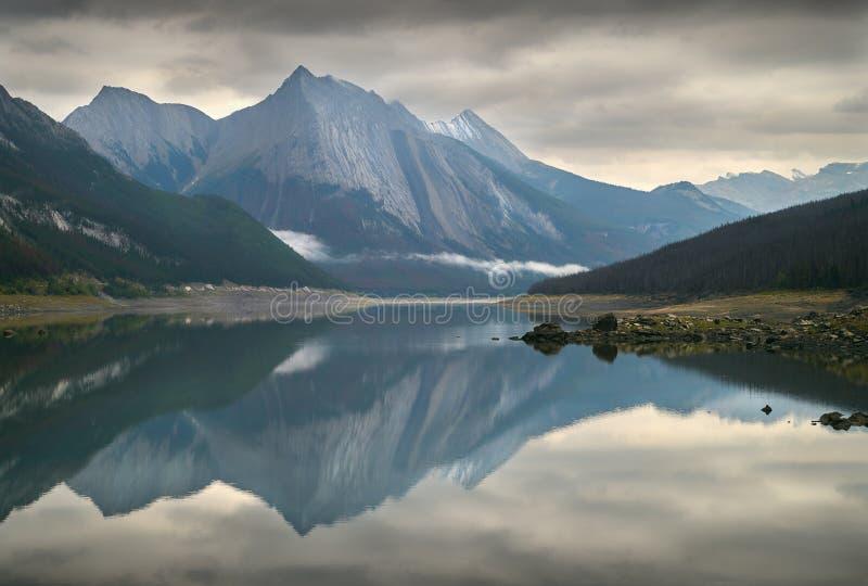 Озеро медицин, Альберта стоковое изображение rf