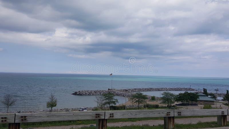 озеро Мичиган стоковая фотография rf