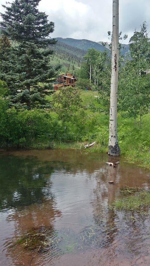 Озеро на кондо стоковая фотография rf