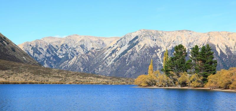озеро новый pearson zealand стоковое фото