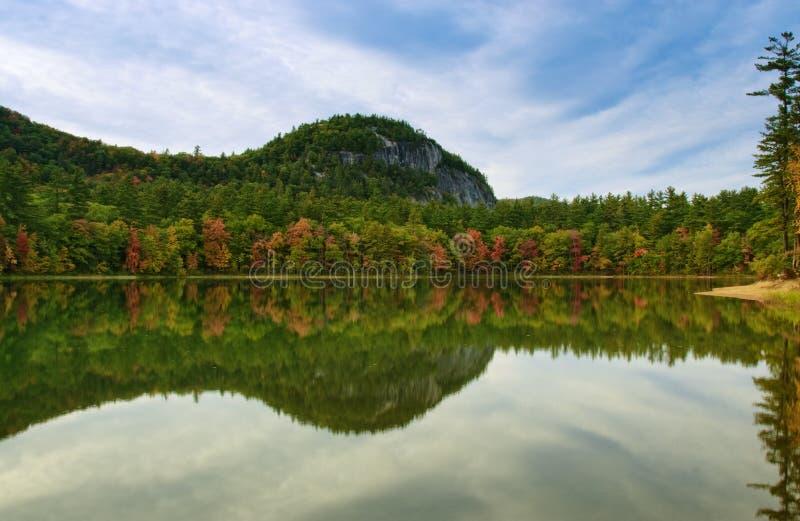 озеро отголоска стоковая фотография