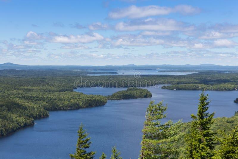 Озеро отголоск стоковое фото