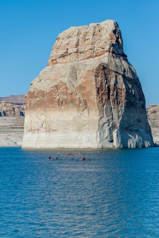Озеро Пауэлл, страница, Аризона, Соединенные Штаты Америки стоковое изображение rf