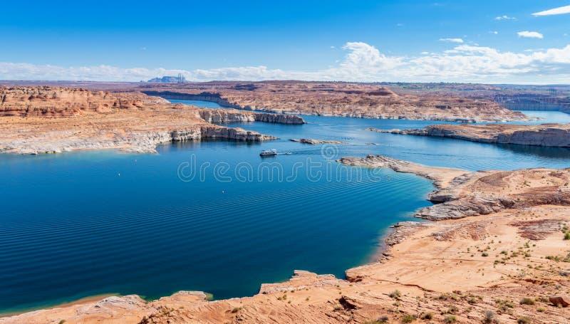Озеро Пауэлл, страница, Аризона, Соединенные Штаты Америки стоковые изображения