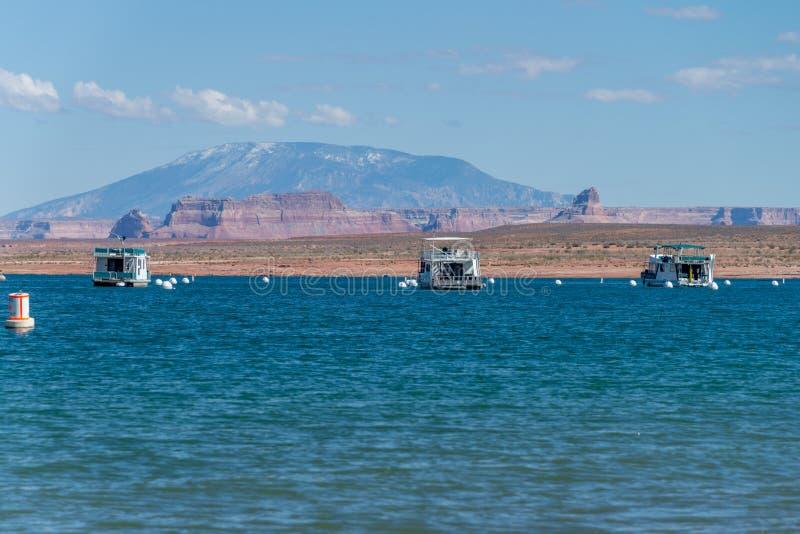 Озеро Пауэлл, страница, Аризона, Соединенные Штаты Америки стоковые фото