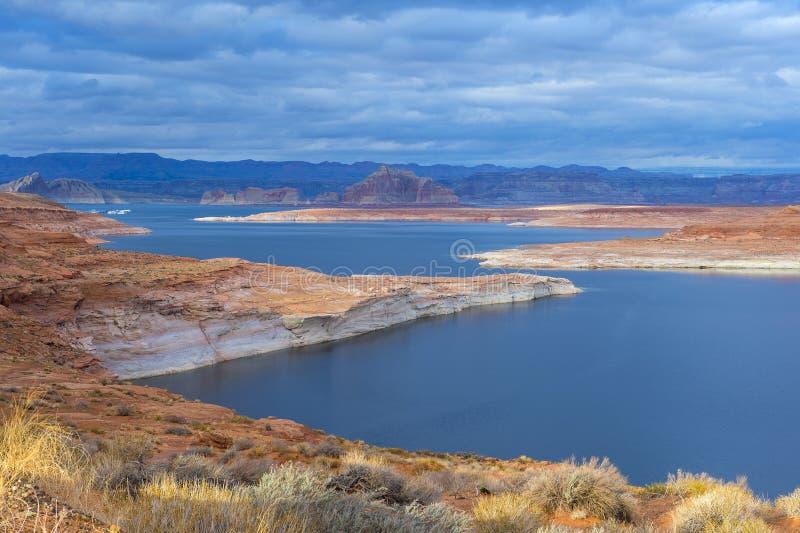 Озеро Пауэлл стоковые фотографии rf