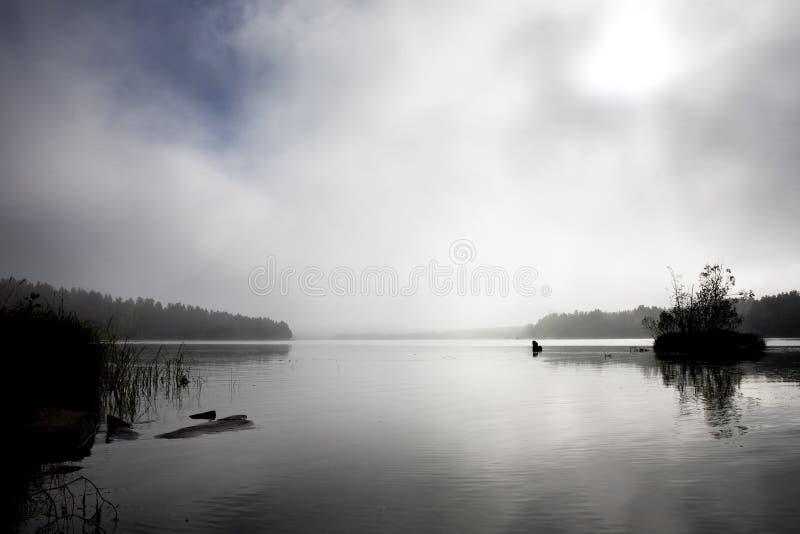 озеро предпосылки стоковые изображения