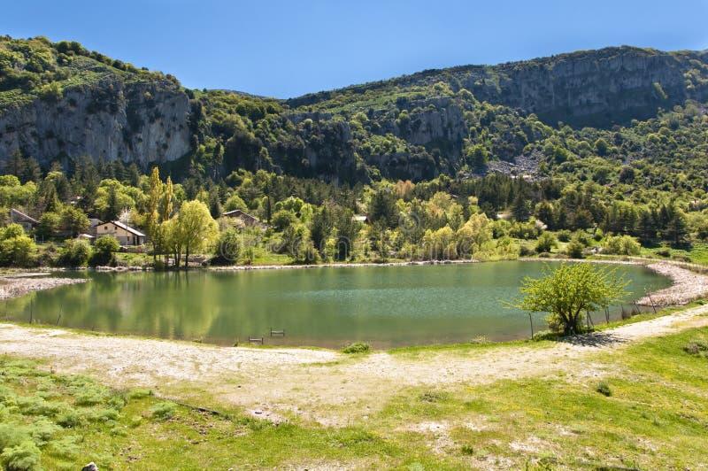 озеро присицилийское стоковые изображения rf