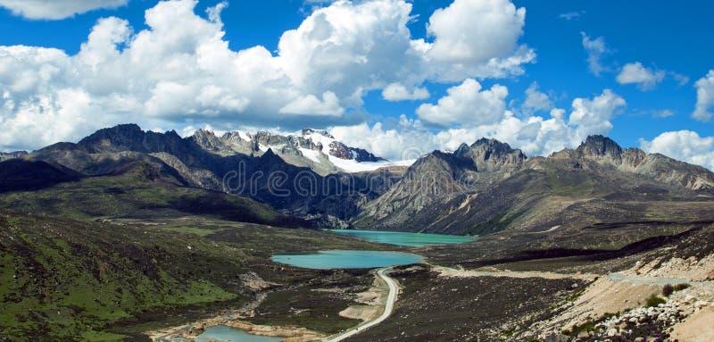 Озеро плато стоковые фото