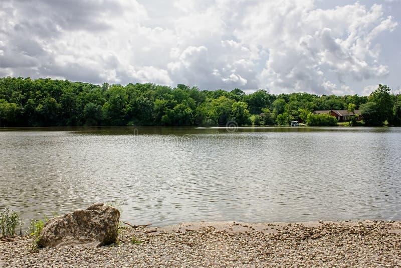Озеро рек стоковые изображения