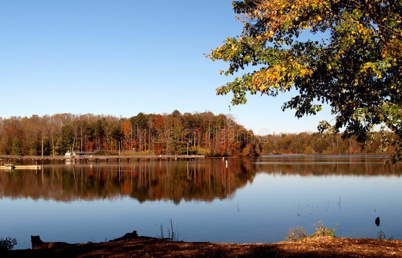 Озеро Салем стоковая фотография