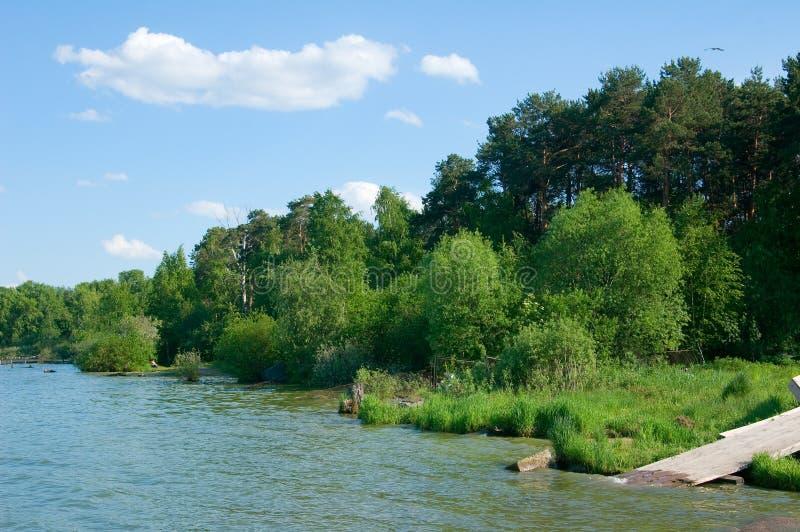 озеро свободного полета стоковые изображения rf
