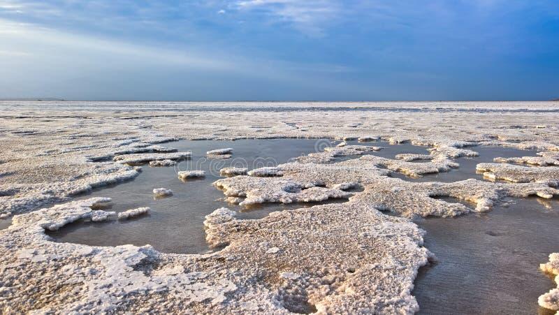 Озеро сол Karum aka Assale или Asale Afar, Эфиопия стоковое фото rf