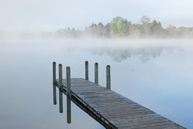 озеро стыковки туманнейшее стоковые изображения rf