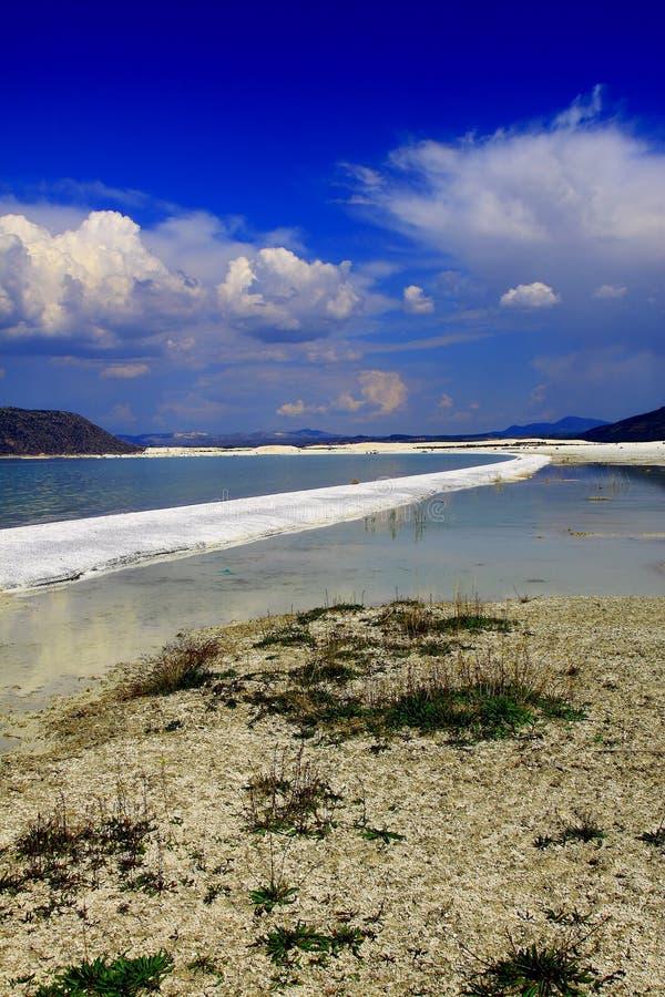 Озеро Турция Salda стоковая фотография