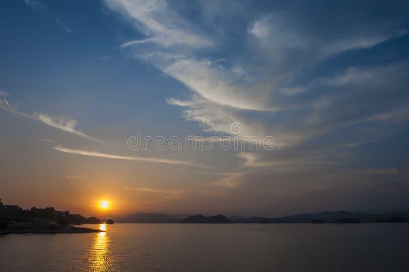 озеро тысяча островов стоковые фотографии rf