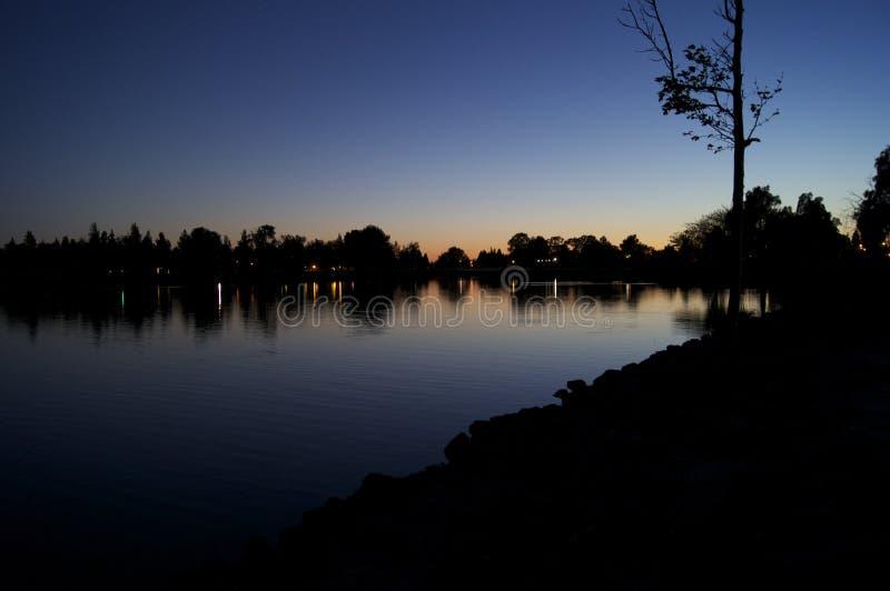 Озеро Элизабет стоковое фото rf