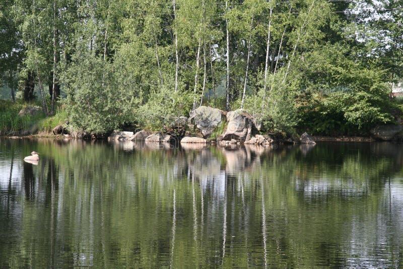 озеро 2 дивное стоковые изображения
