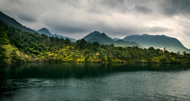 Озеро стоковое фото