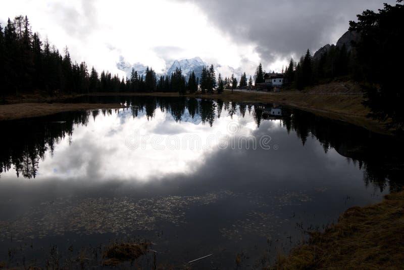 Озеро Antorno стоковые фото