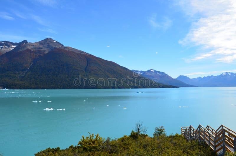 Озеро Argentino стоковое фото rf