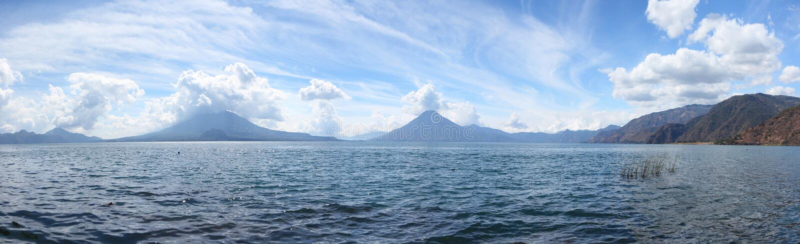 Озеро Atitlan стоковое изображение rf