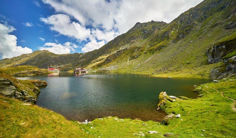 Озеро Balea стоковые фотографии rf