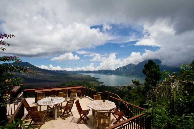 Озеро Batur Бали Индонезия стоковые фотографии rf