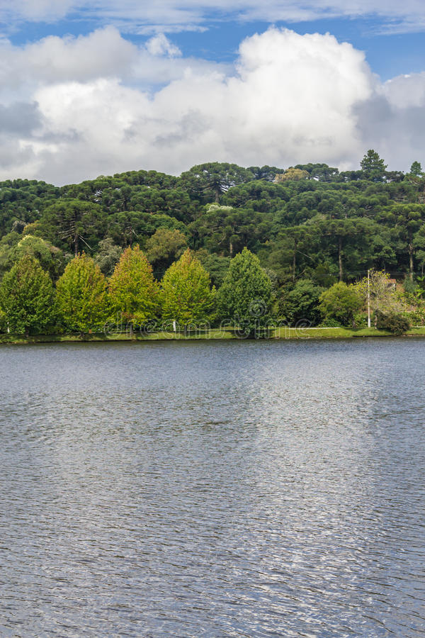 Озеро Bernardo Sao стоковые изображения