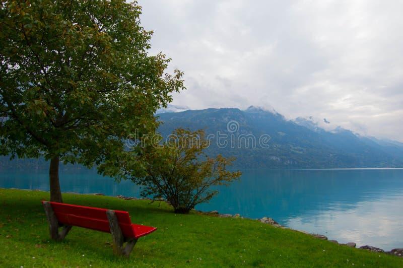 Озеро Brienzersee стоковые изображения rf