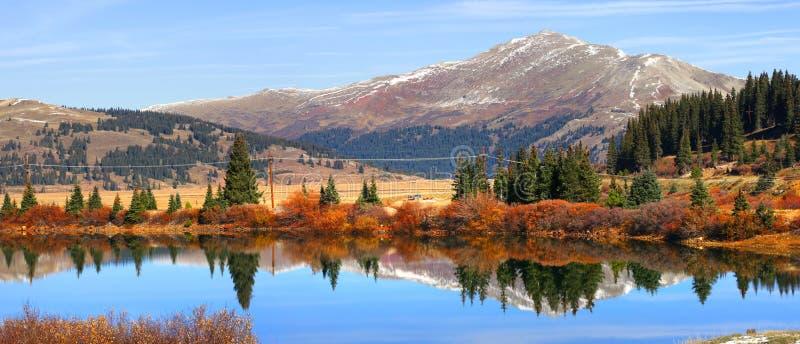 Озеро Buffehr в Колорадо стоковое изображение