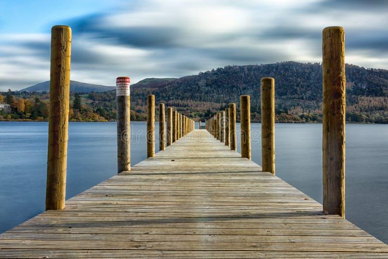 Озеро Buttermere стоковые фотографии rf