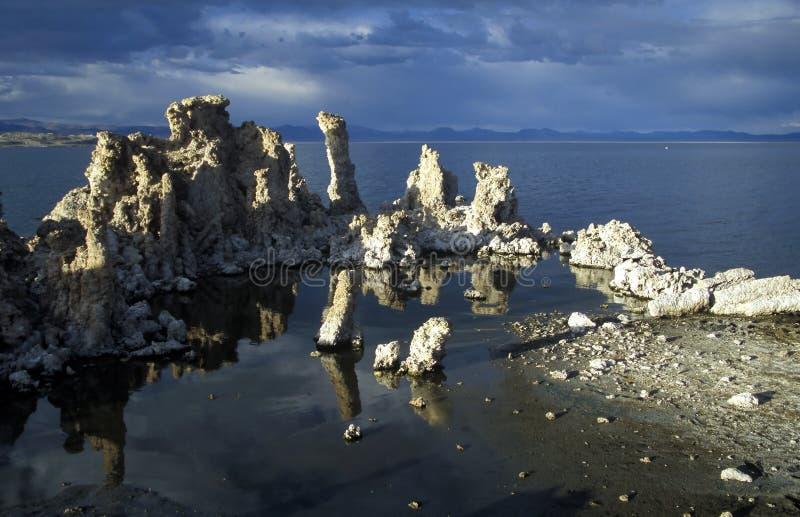 озеро california mono стоковое фото