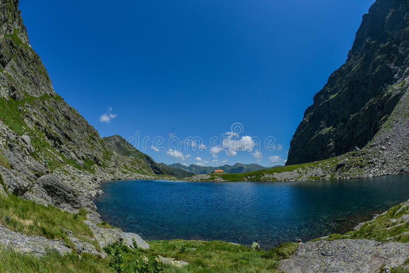 Озеро Caltun стоковое фото