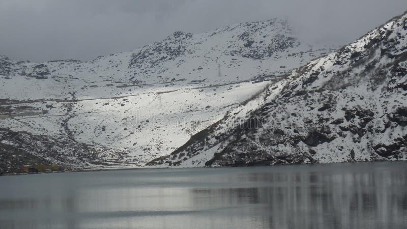 Озеро Changu стоковое изображение