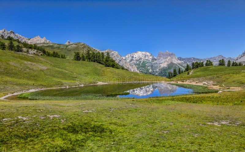 Озеро Chavillon стоковые фото