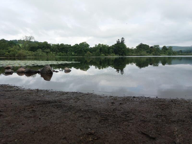 Озеро Clunie стоковая фотография