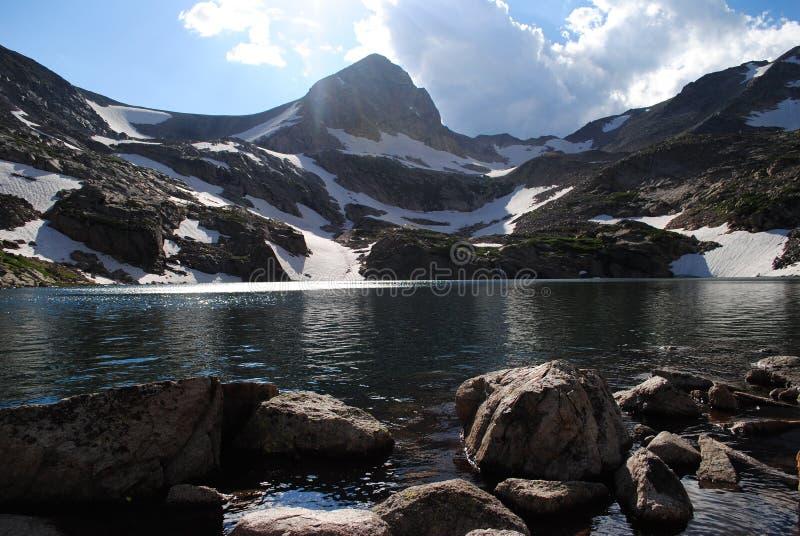 озеро colorado isabelle стоковая фотография