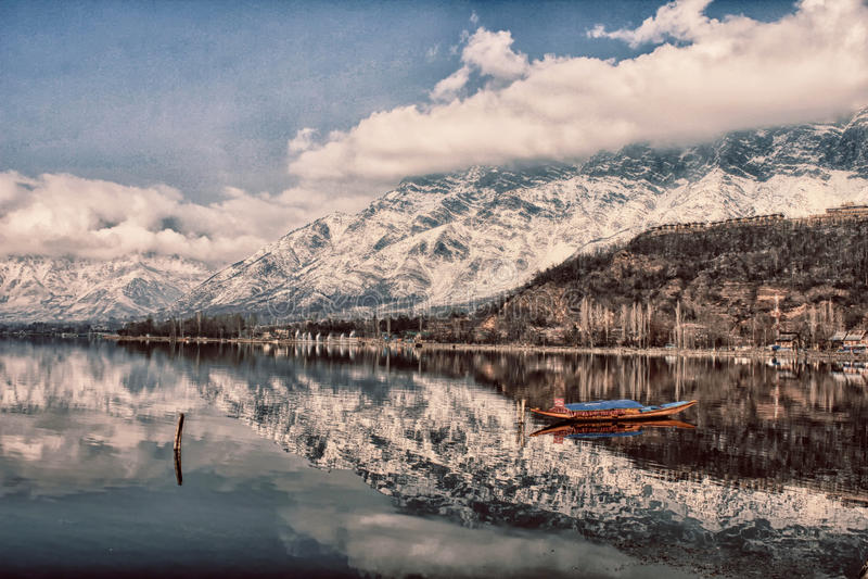 Озеро Dal стоковые изображения rf