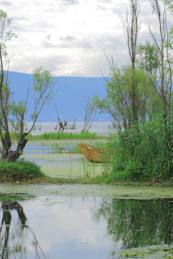 Озеро Dali Erhai стоковые изображения rf