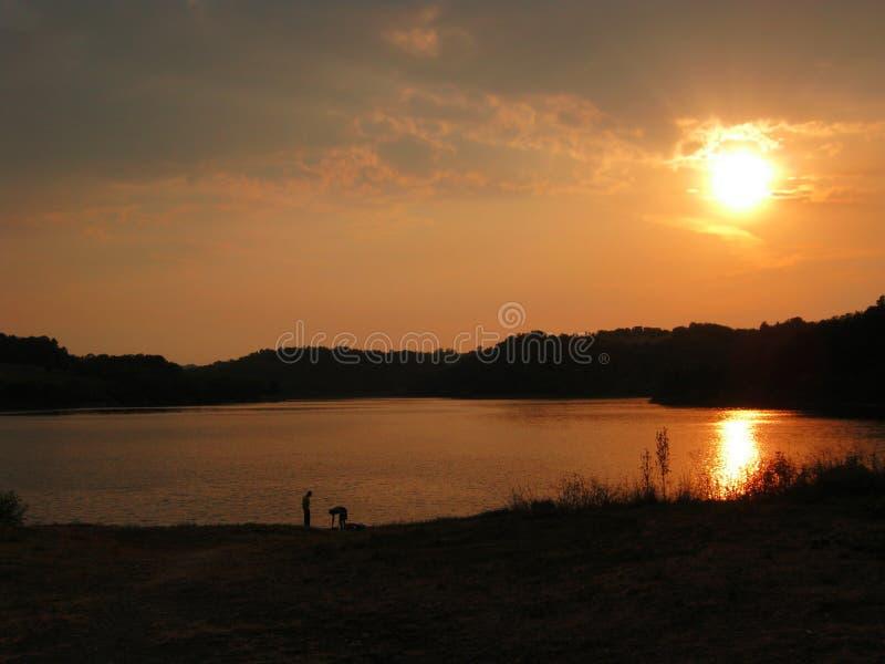 Озеро Drenova, около Prnjavor - Боснии стоковая фотография