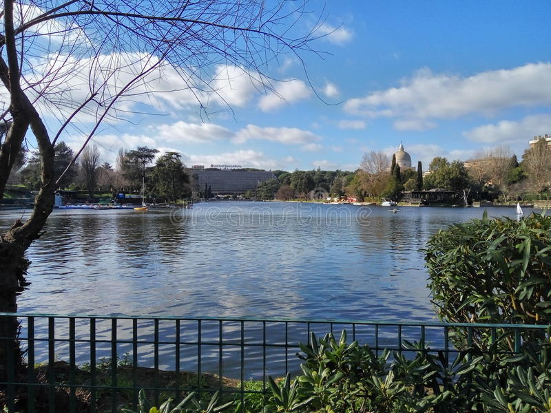 Озеро Eur стоковое фото