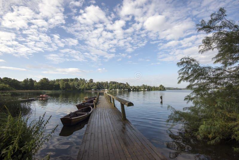 Озеро Faarup стоковые фотографии rf