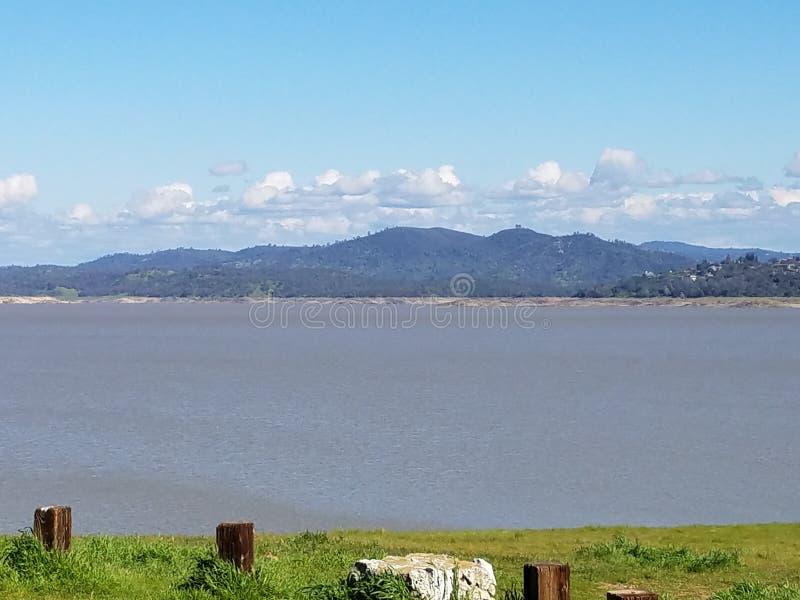Озеро Folsom стоковое фото rf