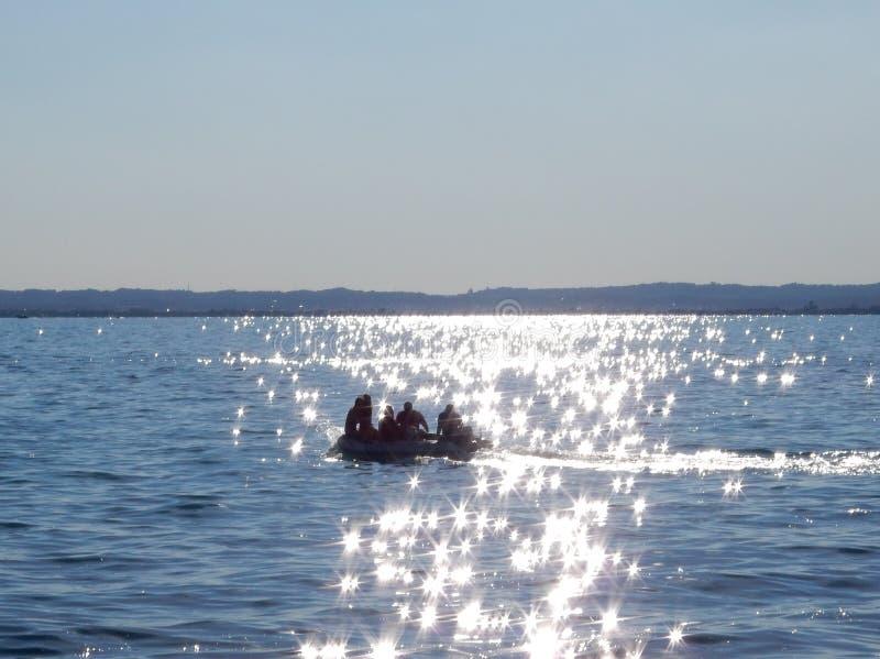 Озеро Garda, Италия стоковое фото