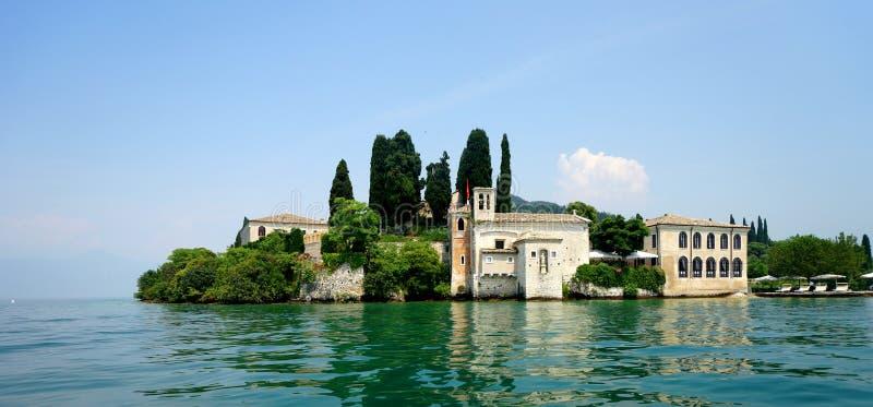 Озеро Garda Сан Vigilio стоковая фотография rf